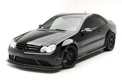 Mercedes  - CLK63 AMG Black