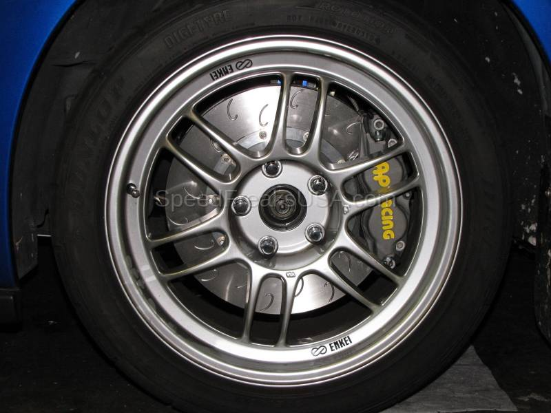 Subaru Wrx Wheels >> AP Racing Competition Big Brake Kit Subaru Impreza WRX STI