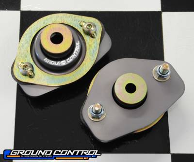 Ground Control  - Ground Control BMW Street Rear Shock Mounts E36 / E46 Coupe & Z4 (Pair)