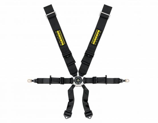 PORSCHE GT3 Schroth Profi II 6H Harness Belt (Black)