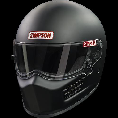 Simpson BANDIT - SNELL 2015 Black Large 6200032