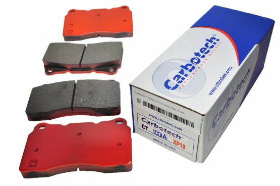 Carbotech Performance Brakes - Carbotech Performance Brakes, CT1001A-XP10