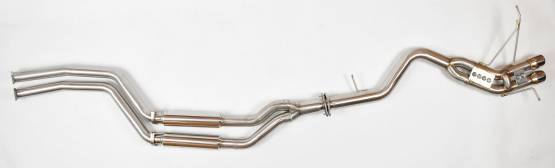 Berk Technology  - Berk 135i Full Race Exhaust System (BT1801-SMP)