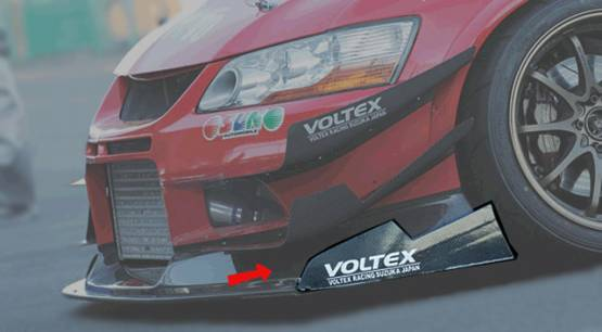 Voltex - Voltex EVO CT9A Side End Plate for EBCS-2