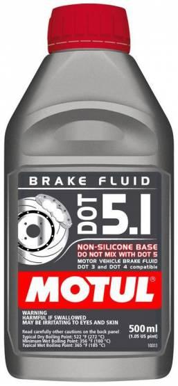 Motul  - Motul DOT 5.1(500mL/ 1.05 US Pint)