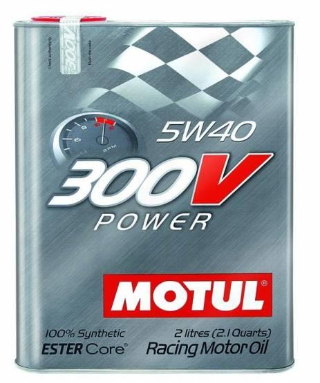 Motul  - Motul 300V POWER 5W40(2L/ 2.1Quart)
