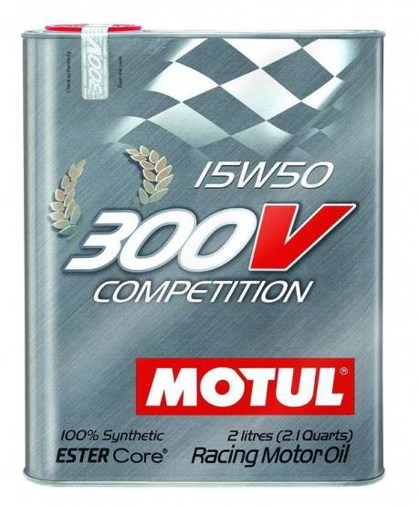 Motul  - Motul 300V COMPETITION 15W50 (2L/ 2.1Quart)