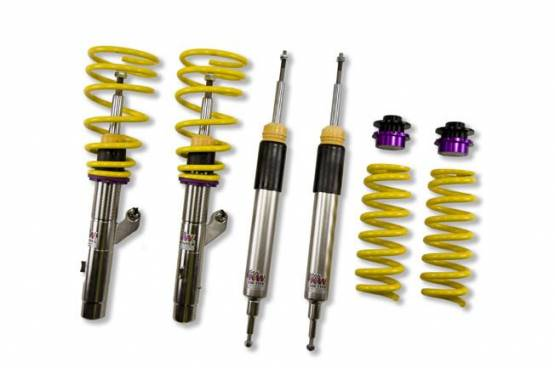 KW Suspension - KW Coilover Kit V2 BMW 1series Coupe E87