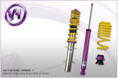 KW Suspension - KW Coilover Kit V1 BMW Convertible 1series