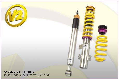 KW Suspension - KW Coilover Kit V2 BMW 1series Convertible E82