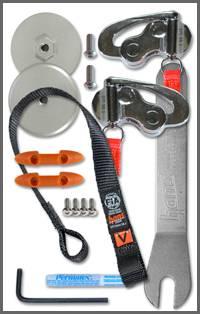 Hans  - Hans Device Quick Click Anchors - Sliding Tether Kit