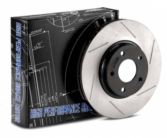 StopTech - StopTech Cryo-SportStop Slotted Rotors Front Left Scion/ Subaru FR-S / BRZ