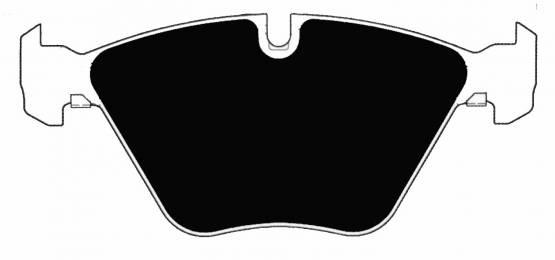 Porterfield - Porterfield R4 AP918 Brake Pad Front BMW 1M / M3 / 335