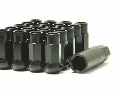 Wheels / Wheel Accessories - Lug Nuts - Muteki - Muteki SR48 Black Open End M12x1.25 or M12x1.5