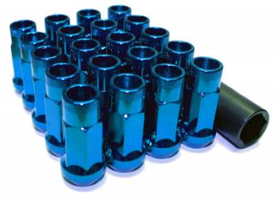 Wheels / Wheel Accessories - Lug Nuts - Muteki - Muteki SR48 Blue