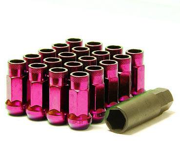 Wheels / Wheel Accessories - Lug Nuts - Muteki - Muteki SR48 Pink