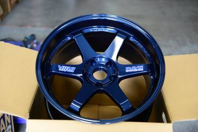 Shop by Category - Volk - Volk TE37SL Magnesium Blue 15x8 +32 5x114.3