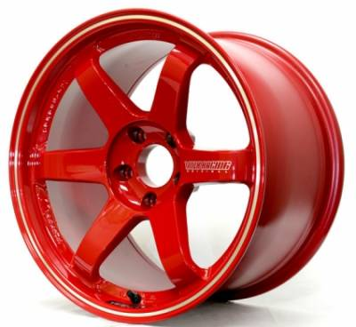 Wheels - 5x114.3 Wheels - Volk - Volk TE37RT Burning Red 17x9.5 +25 5x114.3