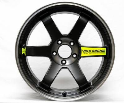 Volk - Volk TE37SL Black Edition Pressed Black 18x10 +20 5x114.3