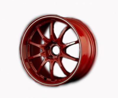 Wheels - 5x114.3 Wheels - Volk - Volk CE28RT Burning Red 18x9.5 +24 5x114.3