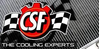 Featured Vehicles - Porsche - CSF - CSF All-Aluminum Race Radiator Porsche 981 Cayman/Boxster auxiliary center radiator (CSF7060)
