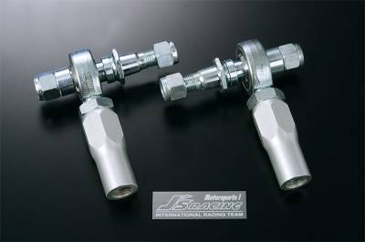 Featured Vehicles - J'S Racing  - J'S Racing Pillowball Front Tie Rod Set - S2000 AP1/AP2