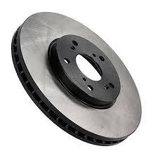 Brake Rotors One-piece  - One-Piece Front Rotors - Centric  - Centric Premium 125 Series High Carbon Rotors E82 135i Front
