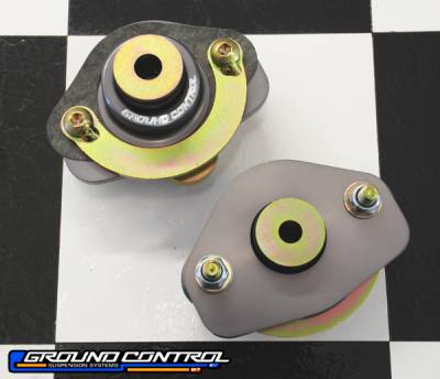 E30 M3 1985-1991 - Suspension  - Ground Control  - Ground Control BMW Street Rear Shock Mounts E30, M Coupe, Z3, E36, E46, Convertible (Pair)