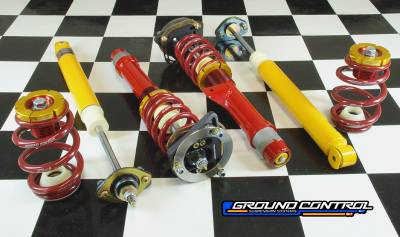 Featured Vehicles - BMW - Ground Control  - Ground Control Complete C/O Kit, E46 M3 Complete Super Street (Double Adj. Front)