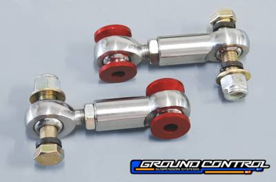 E30 3 Series 1982-1991 - Suspension  - Ground Control  - Ground Control BMW Rear Sway Bar End Link, Adjustable (Pair)