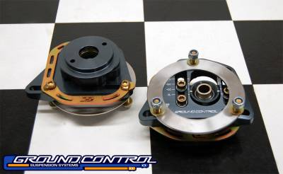 Ground Control  - Ground Control Camber / Caster Plate-RACE BMW E46 M3 (Pair)