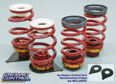 Featured Vehicles - Ground Control  - Ground Control Coilover Conversion kit, BMW E46 M3 01-up