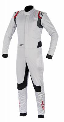 Driver - Nomex® Race Suits - Alpinestars - 2016 SUPERTECH SUIT 198 SILVER / RED