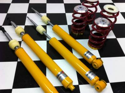 Ground Control  - Ground Control Complete Coilover Kit, BMW E36 - Street Kit