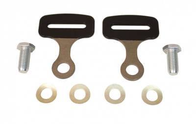 "Safety Harness - Harness Accessories - Schroth Racing  - Schroth 3"" Bendable Bolt On End Fitting Kit"