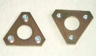 914 - Swaybars and Drop Links - Tarett Nut Plate Adapter (pr), Front Swaybar 911/912/930 (1974-89)