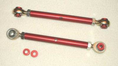 914 - Swaybars and Drop Links - Tarett Drop Link (pr), Front, For 911/914 (1965-73) With Factory Swaybar