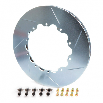 Girodisc D2-032 2pc Rear Rotor Ring Replacements - Porsche 350mm