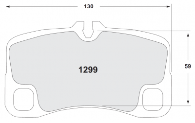 997.2 GT3 ('09-'12) - Brake Pads - Performance Friction  - Performance Friction Rear Brake Pads 1299.08.18.44 Porsche 997