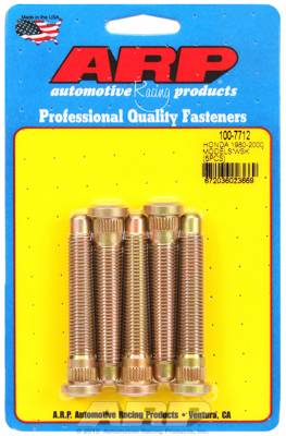 Wheels / Wheel Accessories - Wheel Stud Kit - ARP Honda Wheel Stud Kit (Extended) 2.85in Length M12x1.5