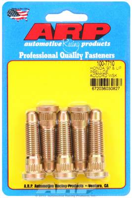 Wheels / Wheel Accessories - Wheel Stud Kit - ARP - ARP Honda Wheel Stud Kit (OE Length S2000) 1.85in Length M12x1.5