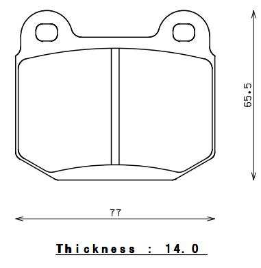Subaru - WRX/STi - Endless  - Endless MX72 EP291 Brake Pads Rear Mitsubishi Evo / Subaru STI & StopTech ST22 Caliper