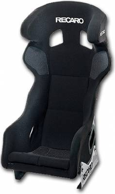 Shop by Category - Recaro  - Recaro Pro Racer HANS® SPG (FIA) (Fiberglass) Black Velour