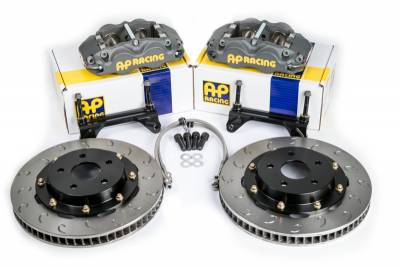 Braking - Big Brake Kit - AP Racing - ESSEX DESIGNED AP RACING COMPETITION BRAKE KIT (FRONT CP8350/299)- Honda S2000 06-09