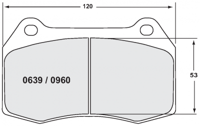 Nissan - 350Z - Performance Friction  - Performance Friction Front Brake Pads 0960.11.17.44 Nissan 350z Grand Touring