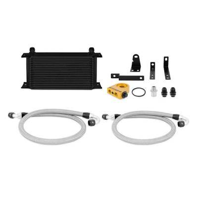 Cooling - Oil Coolers and Accessories  - Mishimoto - Mishimoto Oil Cooler Kit; Thermostatic; Incl Mounting Hardware 2000-2009 Honda S2000 (AP1 / AP2)