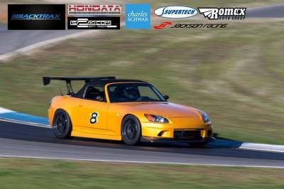 Aerodynamics - Bumpers/Lips - Voltex - Voltex S2000 Front Bumper - Street Version w/ Wet Carbon Lower