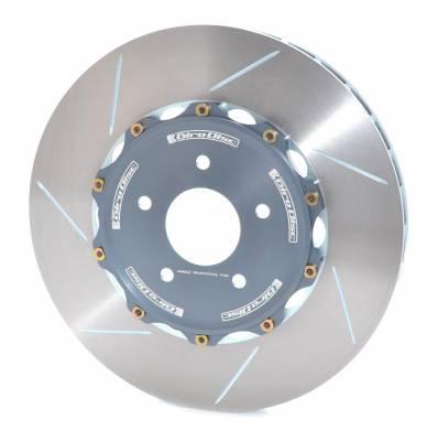 Brake Rotors Two-piece - Two-Piece Rear Rotors - Girodisc - Girodisc A2-149 Audi B8 RS5 Rear 2-Piece Rotor Upgrade