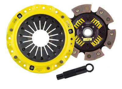 Clutch Components - Clutch Kits - Advanced Clutch Technology - HD/Race Sprung 6 Pad - HS1-HDG6 Honda S2000 (2000-2009)