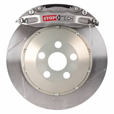 Featured Vehicles - Honda - StopTech - StopTech Trophy Big Brake Kit Slotted 2pc Rotor / 4 Piston Caliper, 332x32mm E36 M3 BBK